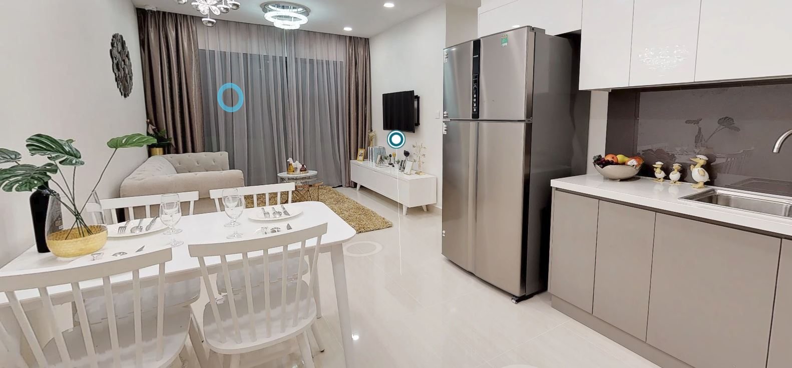VinCity Căn Hộ 3 Phòng Ngủ | 2WC | 75,11 m2