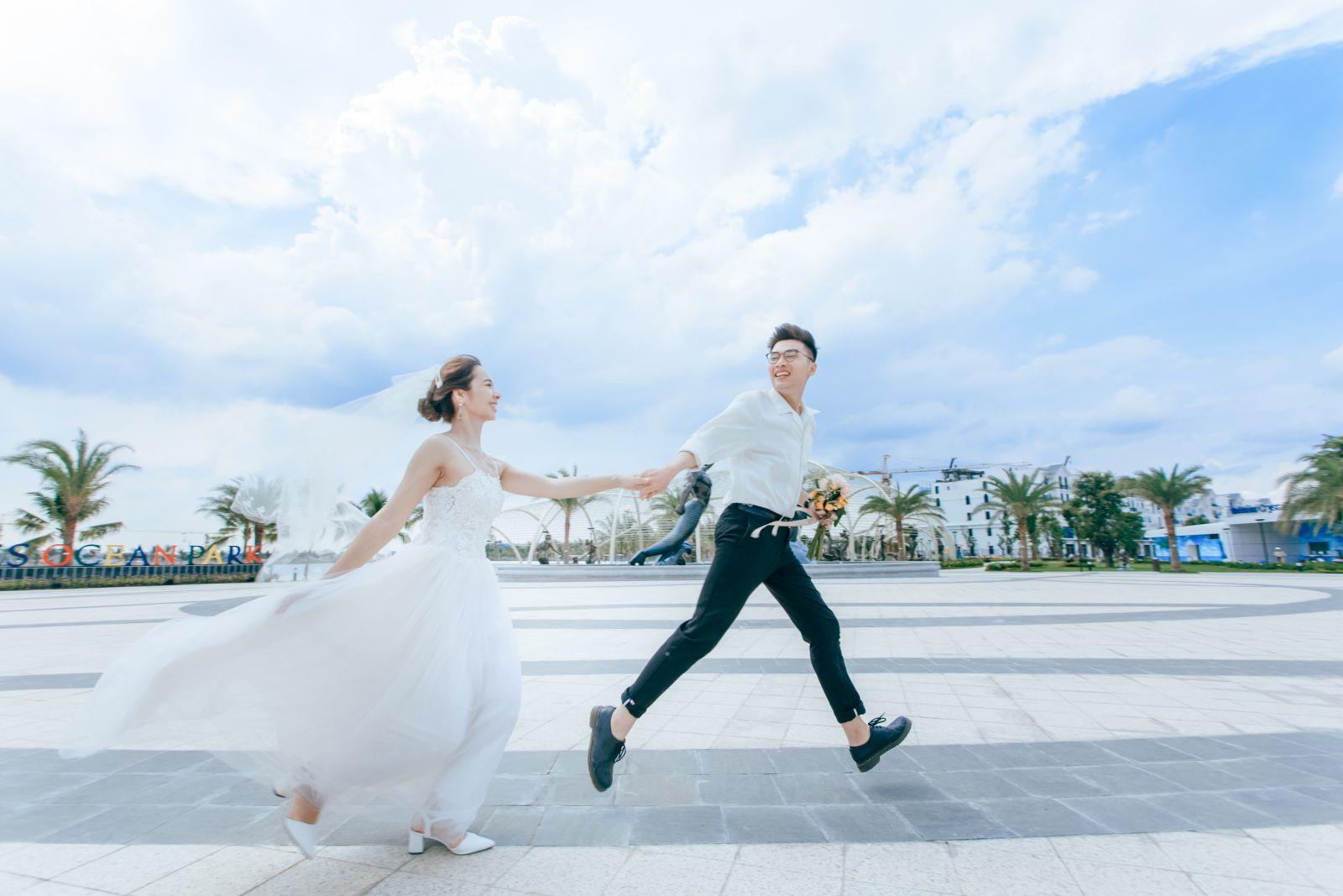 Vinhomes Ocean Park - Thiên đường chụp ảnh cưới mới ngay tại Thủ Đô