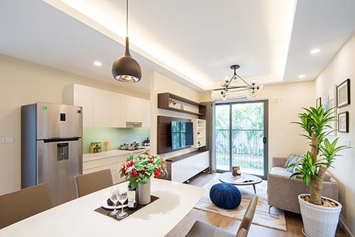 Thiết kế căn hộ 45 m2 siêu đẹp cho cặp vợ chồng trẻ