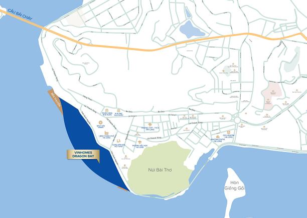 Vị trí Vinhomes Dragon Bay