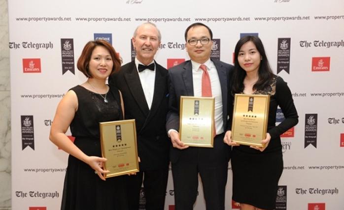 Vingroup liên tiếp đạt 3 giải nhất tại giải thưởng BDS Châu Á Thái Bình Dương 2016