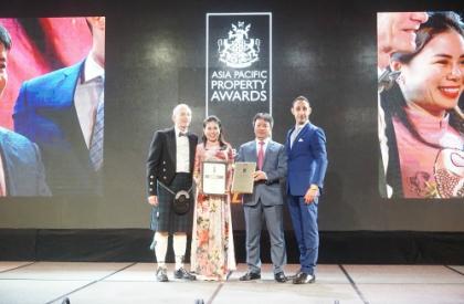 MDLand Việt Nam tự hào là Đại lý đã đồng hành cùng Vinhomes nhận giải thưởng 'Khu đô thị tốt nhất Việt Nam'