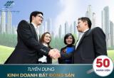 Tuyển dụng nhân viên kinh doanh BDS thu nhập cao tại Hà Nội